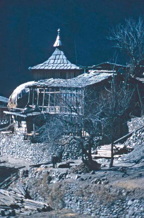 Photo of a house in Sangla
