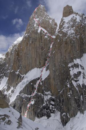 East face of K7