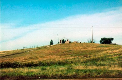 Wounded Knee Hill, Pine Ridge Resevation, South Dakota