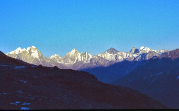 Photo of Kinnaur mountains in the evening