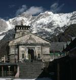 Photo of Kedarnath Temple and Kedarnath mountain