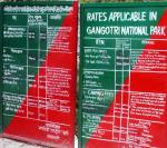 Trekking fees in Gangotri National Park