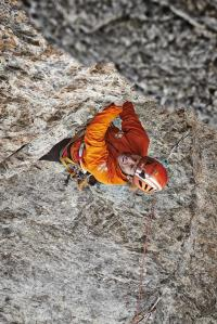 On the Ghili-Piola, Eiger north face