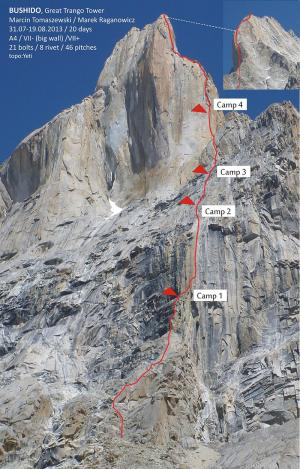 Bushido, Great Trango