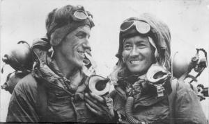 Hillary and Tenzing