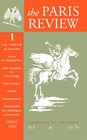 The Paris Review Cover, issue 1